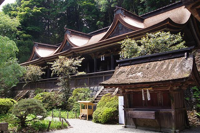 吉野水分神社(重文)(よしのみくまりじんじゃ)