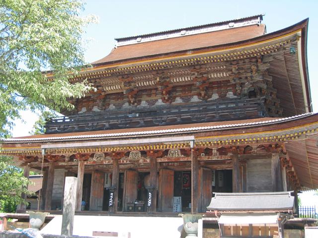 金峯山寺蔵王堂(国宝)(きんぷせんじざおうどう)